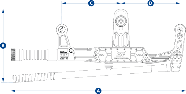 clamp on line tensionmeter dimensions