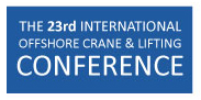 23rd Crane and lifting conference