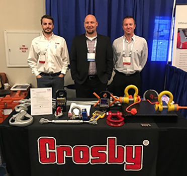 Crosby SPs Orsak predstavuje na Offshore Safe Lifting Conference