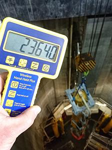 SP Hand Held Plus -prosessoria käytetään sylinteripainon valvontaan.