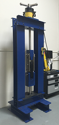 Διαστάσεις 55tonneLoadCellCalibrationTestMachine