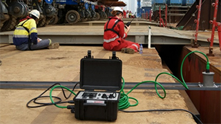straightpoint marine operations survey system in use