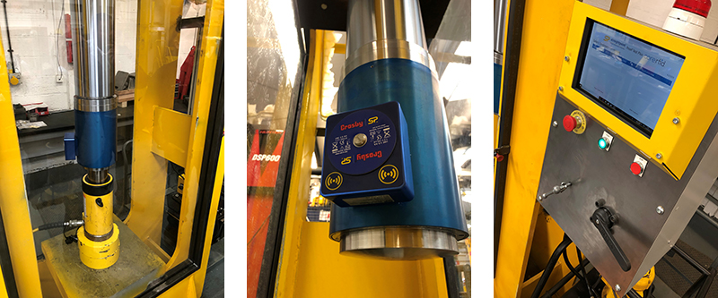 loadsafe used testing hydraulic lifts and jacks
