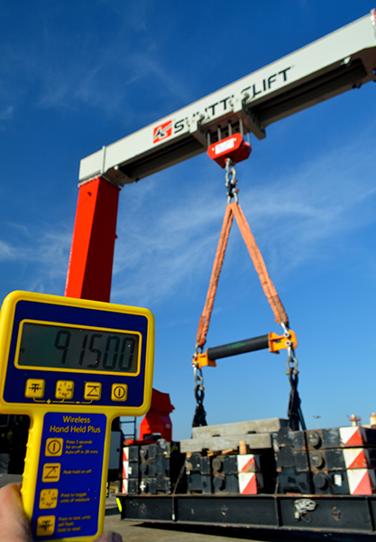 gantry weighing