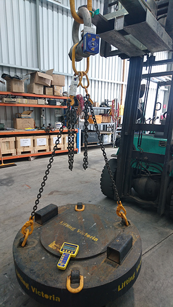 sp wireless loadshackle testing weights