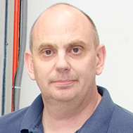 Mark Pavely strain gauge technician